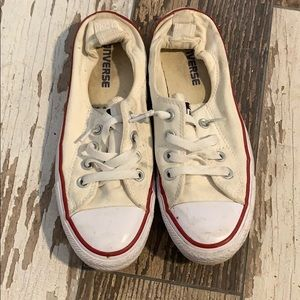 Slip On White Converse Size 7